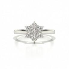 Platinum Diamond Promise Rings