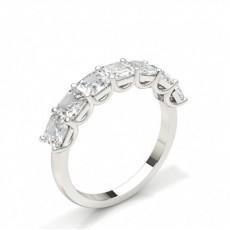 Zinkeneinstellung Ascher Seven Stone Ring