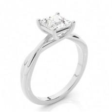 Prinzessin Solitär Diamantringe