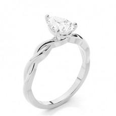 Poire Bague Diamant