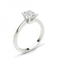 Radiant Solitaire Diamond Rings