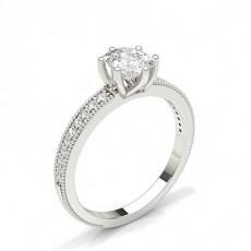 Cushion Diamond Engagement Rings