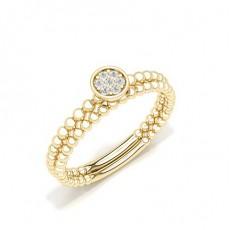 Yellow Gold Everyday Diamond Rings