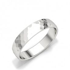 Men's White Gold Wedding Rings & Bands